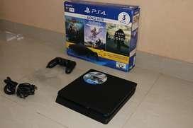 Playstation 4 en caja