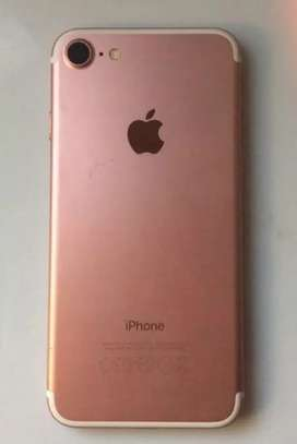 Iphone 7 32gb gold pink libre