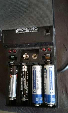 cargadores de pilas y baterias