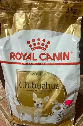 Vendo Royal Canin Chihuahua Adult