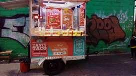 Se vende trailer de comida (foodtruck)
