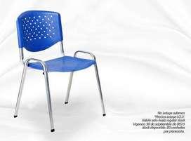 Silla para oficina quincy azul