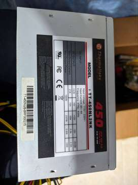 fuente de poder thermaltake 450w