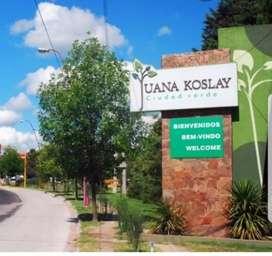 Lote en Juana koslay