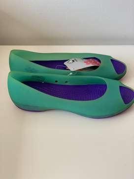 Crocs sandalias originales punta abierta