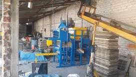 Bloquetera Adoquinera Semiautomatica Industrial (CAMBIO O VENDO)