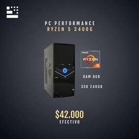 PC PERFORMANCE AMD RYZEN 5 3400G