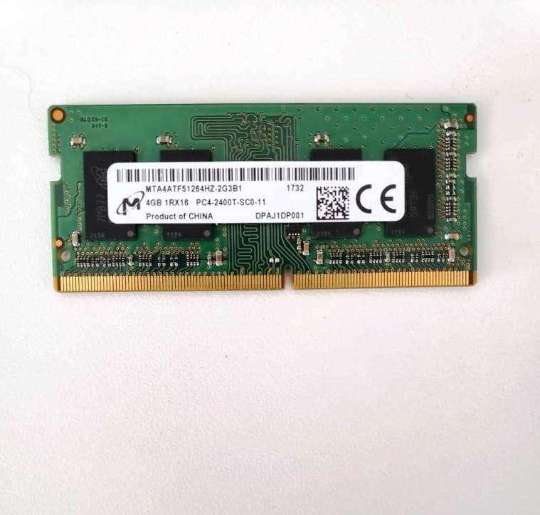 Memoria SODIMM Micron 4gb DDR4 2400mhz Nueva para Notebook 0