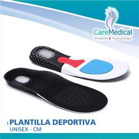 Plantillas Deportivas Unisex CM - Ortopedia Care Medical