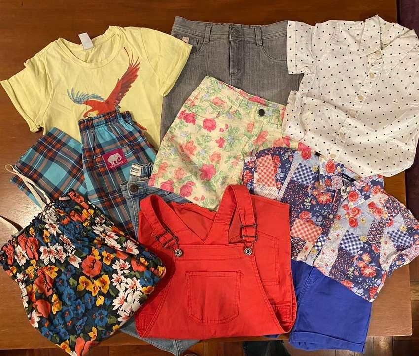Combo 10 prendas: Remeras, blusas, shorts, jeans, elephant, vestidos, combo varios modelos talle 6/8 0