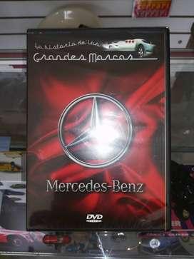 DVD Historia de BMW y Mercedes Benz