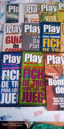 Colección de revistas originales play 1