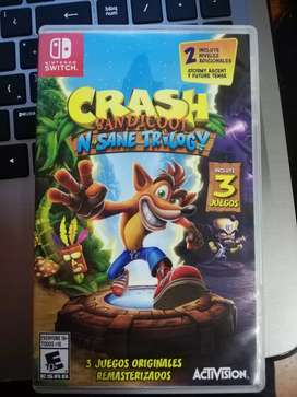 Crash Bandicoot 3 juegos en 1 Nintendo Switch