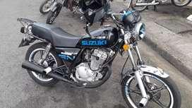 Moto suzuki gn nova 125f excelente estado