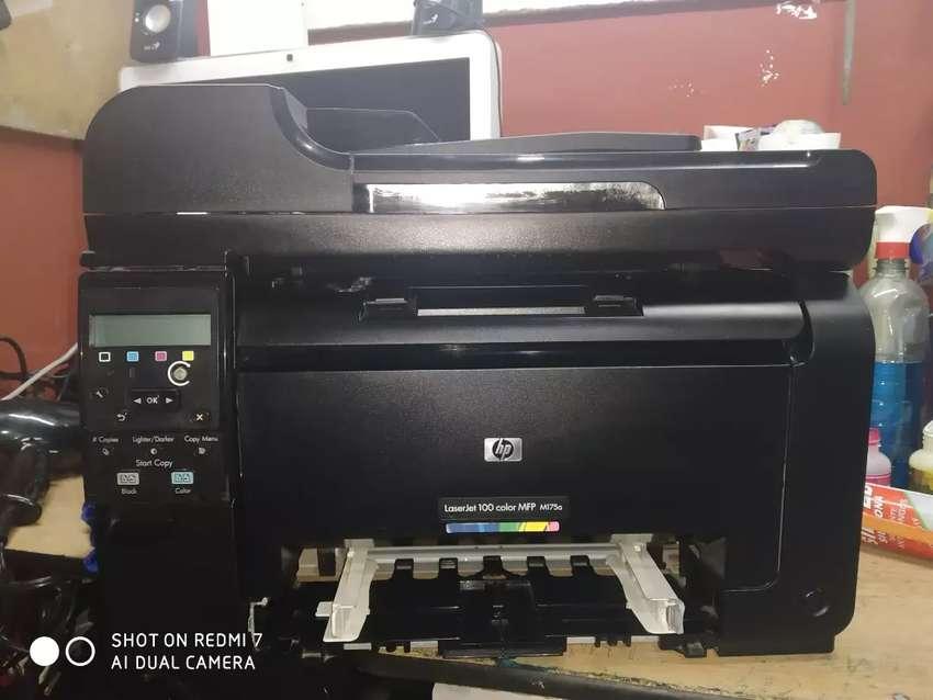 Impresora láserJet color MFP M175a 0