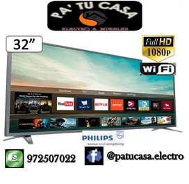 "Smart TV 32"" PHILIPS Full HD"
