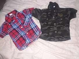 Camisas de bebé