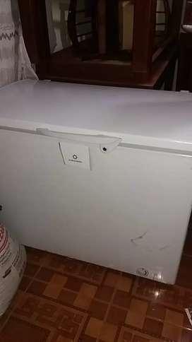 Congelador indurama de 300.lts