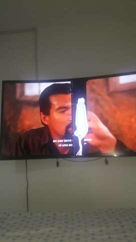 Televisor curvo 4k
