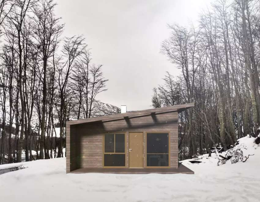 WOOD HOUSE & LOTE 0