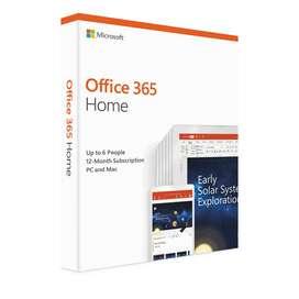 Office 365 Hogar Software Para Pc Y Mac 6 Usuarios