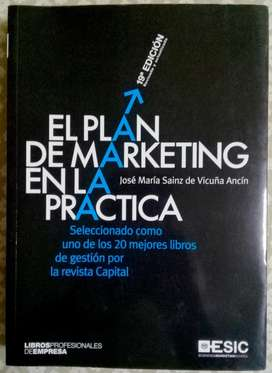 El plan de marketing en la práctica, ed. 2017 Sainz De Vicuña Ancín,