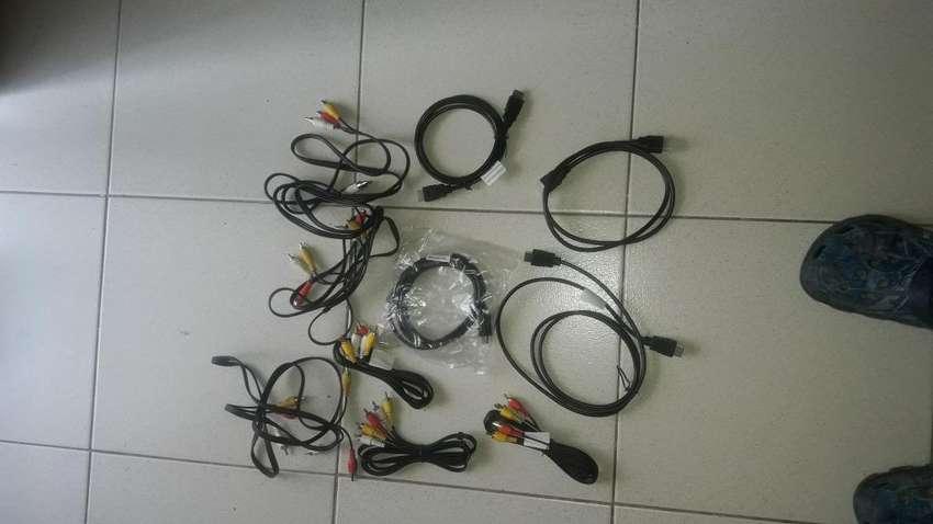 Vendo cable HDMI y de Vdeo 0