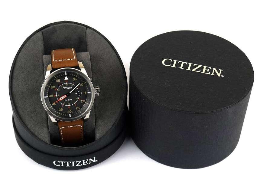 Reloj Citizen Eco Drive aviador. Relojes originales hombre Bulova Casio Fossil Guess Invicta Seiko