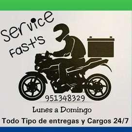 ofrecemos servicio motorizado