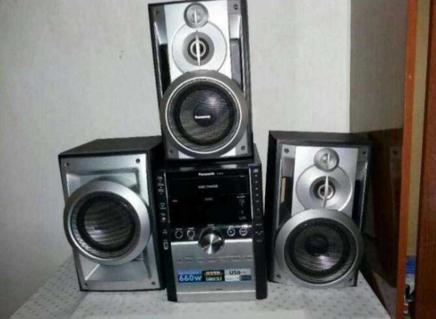 Equipo de Musica Panasonic 660 W 0