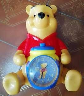 Winnie Pooh reloj despertador alcancia original