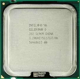 Microprocesador Intel Celeron D Socket 775