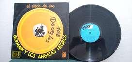 Discos - vinilos  german y los angeles negros -