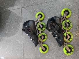 Se venden  patines profesionales  chasis  canarian   ultra liviano  bota prain   como nuevos
