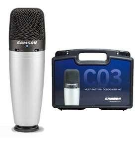 Microfono condenser samson c03