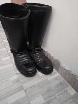 Botas caña alta