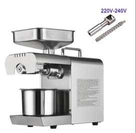 Máquina Prensadora de Aceite todo tipo de semillas Maní, Soya, ajonjolí, coco, sacha inchi, etc.