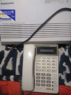 Centralita Panasonic KX-TA308 y Telefono Conmutador Panasonic KX-T7030X