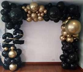 •Decoracion con Globos para Cumpleaños #22•