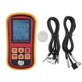 Medidor Espesor Ultrasonido Precisión 0.01mm C/ 2 Transductores