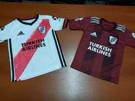 Camiseta River titular y alternativa