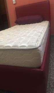 Combo somier + colchon + almohadas