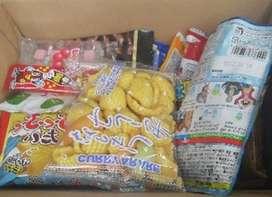 Set de dulces japoneses