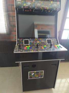 """Maquina arcade 32""""  3 jugadores con plataforma de baile y sonido 5.1"""