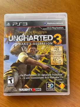 "Uncharted 3 ""Drake's deception"" PSP3"