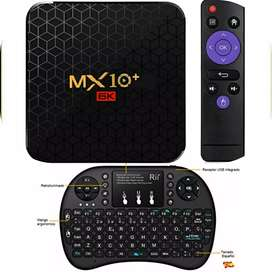 Smart Box TV MX 10+ PLUS. 64GB, 4GB RAM.