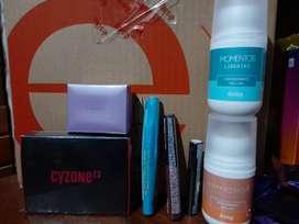 Liquidación de productos de esika y cyzone