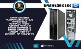 TORRE CORPORATIVA HP 8300 CORE I5 DE 3GEN