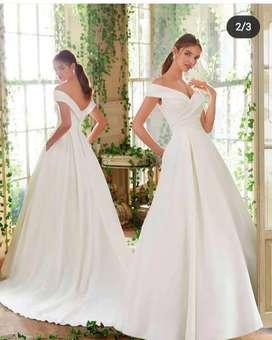 Vestido Marca Mori Lee Bridal y velo de novia de segundo uso