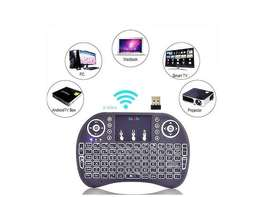 Mini Teclado Android Inalámbrico Touchpad Smart Tv Windows C